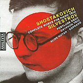 Shostakovich: Complete Works for Piano Trio;  Silvestrov / Gryphon Trio
