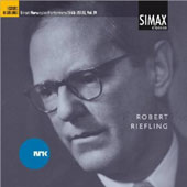 Great Norwegian Performers 1945-2000, Vol. 4: Robert Riefling