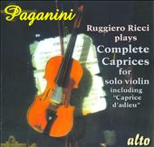 Paganini: Complete Caprices For Solo Violin / Ruggiero Ricci