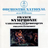 Franck: Symphony In D Minor; Symphonic Variations