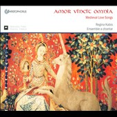 Amor Vincit Omnia: Medieval Love Songs / Regina Kabis, Manuela Mohr, Marc Lewon, Baptiste Romain, Murat Coskun