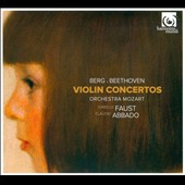Berg & Beethoven: Violin Concertos / Isabelle Faust, Claudio Abbado