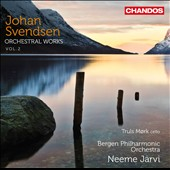 Johan Svendsen: Orchestral Works, Vol. 2 - Norwegian Rhapsodies 3 & 4; Cello Concerto, Op. 7; Symphony no 2 / Truls Mork, cello
