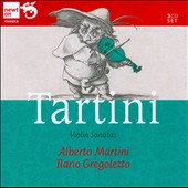 Tartini: Sonatas for violin & harpsichord, Op. 2/1-6; 26 Piccole Sonate autografe / Alberto Martini, violin; Ilario Gregoletto, harpsichord