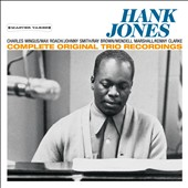 Hank Jones (Piano): Complete Original Trio Recordings [Bonus Track]