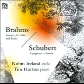 Brahms: Sonatas for Viola & Piano Nos. 1 & 2; Schubert: 