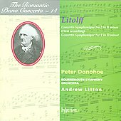 The Romantic Piano Concerto 14 - Litolff / Donohoe, Litton