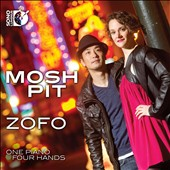 Mosh Pit - Works for Piano Duo by Gershwin, Barber, Corigliano, Allen Shawn, Paul Schoenfield / Zofo Piano Duo [Blu-ray audio]
