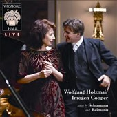 Songs by Schumann and Reimann / Wolfgang Holzmair, baritone; Imogen Cooper, piano