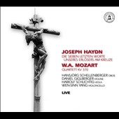 Haydn: Seven Last Words of Christ on the Cross; Mozart: Quartett K.370 / Hansjorg Schellenberger, oboe