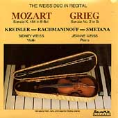 The Weiss Duo in Recital - Mozart, Grieg, Kreisler, et al