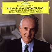 Brahms: Klavierkonzert no 1 / Pollini, Abbado, Berlin PO