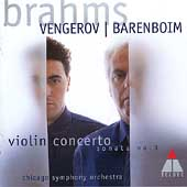 Brahms: Violin Concerto, Sonata no 3 / Vengerov, Barenboim