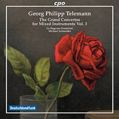 Georg Philipp Telemann (1681-1767): The Grand Concertos for Mixed Instruments, Vol. 3 / La Stagione Frankfurt, Michael Schneider