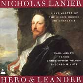 Lanier: Hero and Leander / Paul Agnew, Christopher Wilson