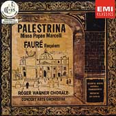 Palestrina: Missa Papae Marcelli;  Fauré: Requiem / Wagner