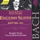 Edition Bachakademie Vol 113 - English Suites / Robert Levin