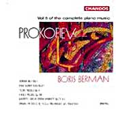 Prokofiev: Complete Piano Music Vol 5 / Boris Berman