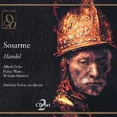 Handel: Sosarme / Lewis, Deller, Watts, Herbert, et al