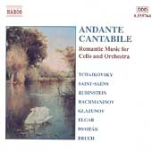 Andante Cantabile - Romantic Music for Cello and Orchestra
