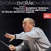 Dvorak: Symphonic Variations, etc / Mackerras, Czech SO