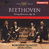 Beethoven: String Quartets Op 18 / Borodin String Quartet