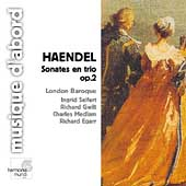 Handel: Sonates en trio Op 2 / London Baroque