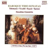 Baroque Trio Sonatas - Telemann, Vivaldi, et al / Danubius