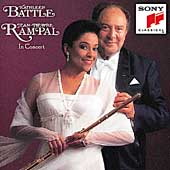 In Concert / Kathleen Battle, Jean-Pierre Rampal