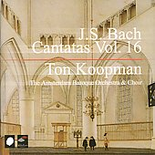 J.S. Bach: Cantatas Vol 16 / Koopman, Amsterdam Baroque