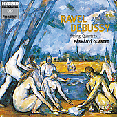 Ravel, Debussy: Strings Quartets / Parkanyi Quartet