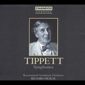 Classics - Tippett: The Symphonies / Hickox, Bournemouth SO