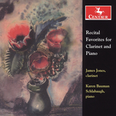 Recital Favorites for Clarinet and Piano / James Jones