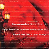Shostakovich: Piano Trios, etc / Rodgers, Beaux Arts Trio