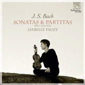 J.S. Bach: Sonatas & Partitas for solo violin, BWV 1001-1003 / Isabelle Faust, violin