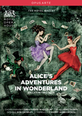 Joby Talbot: Alice's Adventures in Wonderland / Wordsworth, Royal Ballet [DVD]