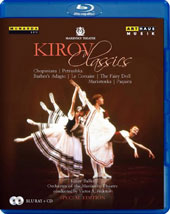 Kirov Classics - The Kirov Ballet dances highlights from Chopiniana; Petrushka; Barber's Adagio; Le Corsaire; The Fairy Doll; Markitenka; Paquita / Mariinsky Theatre Orch., Fedotov [Blu-ray]