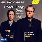Mahler: Lieder / Pr&eacute;gardien, Gees