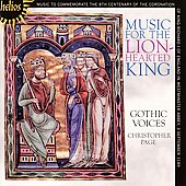 Music for the Lion-Hearted King / Page, Gothic Voices