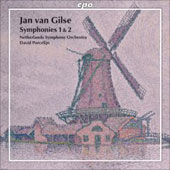 Jan van Gilse: Symphonies no 1 & 2 / Porcelijn, Netherlands SO