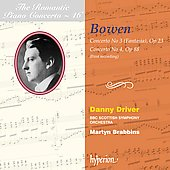 The Romantic Piano Concerto Vol 46 - Bowen / Driver, Brabbins, BBC Scottish SO