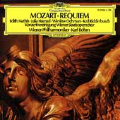 Mozart: Requiem / B&#246;hm, Mathis, Hamari, Ochmann, Ridderbusch