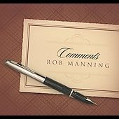 Rob Manning: Comments [Digipak]