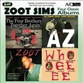 Zoot Sims: Stretching Out/Starring Zoot/Downhome/Jazz Soul of Porgy and Bess