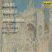 Durufle, Faur&#233;: Requiem / Shaw, Blegen, Morris, Atlanta SO