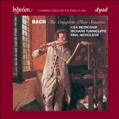 Bach: The Complete Flute Sonatas / Lisa Beznosiuk, Paul Nicholson, Richard Tunnicliffe