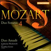 Mozart: Duo Sonatas, Vol. 4 / Catherine Mackintosh, violin; Geoffrey Govier, piano