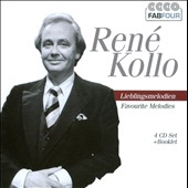 Favourite Melodies / Ren&eacute; Kollo, tenor [4 CDs]
