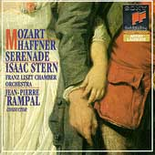 Mozart: Haffner Serenade / Stern, Rampal, Franz Liszt CO