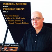 Mordecai Shehori Plays Frédéric Chopin, Vol. 2